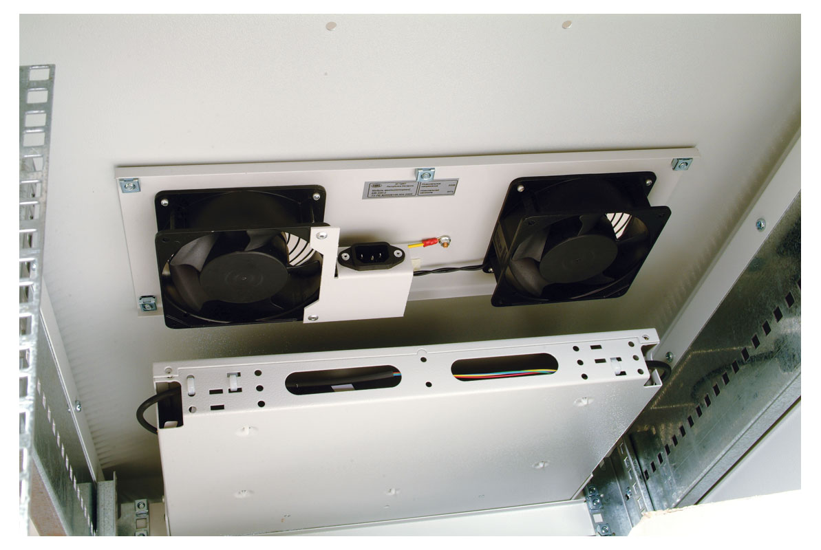 Модуль вентиляторный 19 для серверного шкафа